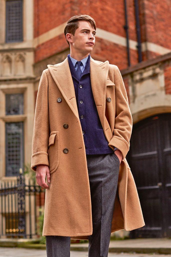 Модели мужских пальто