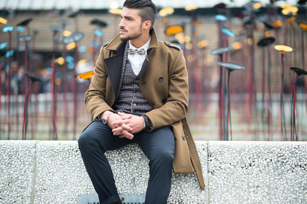 Самые актуальные модели  мужских пальто