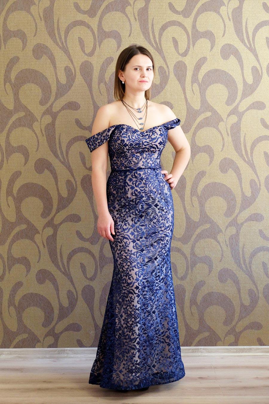 платье праздничное женское