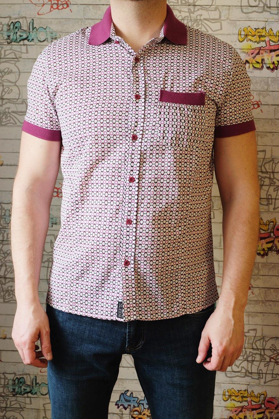 рубашки поло мужские с коротким рукавом